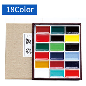 Japan Auspicious Watercolor Paint