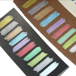 STA Metallic Marker (10 Vibrant Colors)