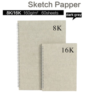 60 Sheets 8k/16K Sketchbook Paper