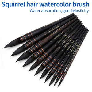Squirrel Hair Watercolor Paint Brush