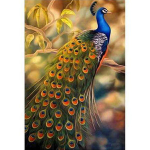 Peacock - DIY 5D Diamond Painting