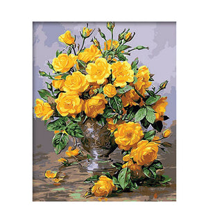 Yellow Rose Van-Go Paint By Number Kit