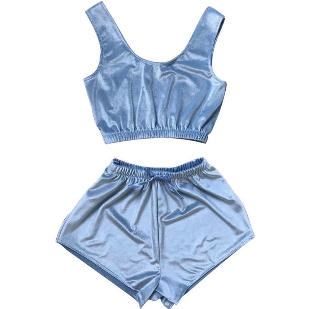 "Chill Set ""Baby Blue """
