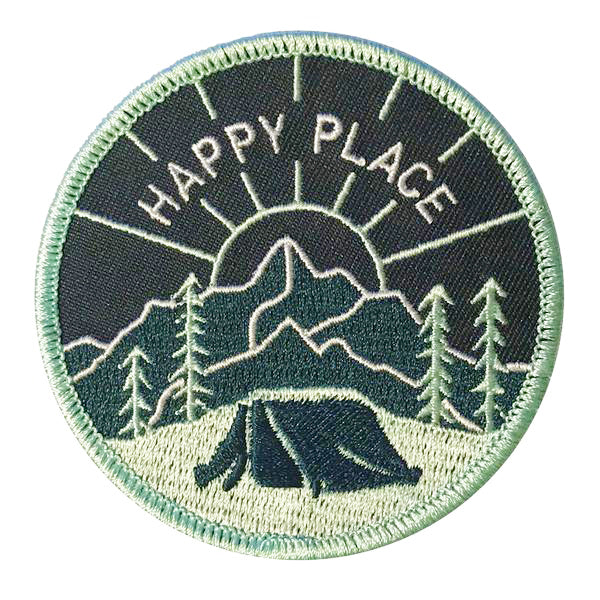 Happy Place Patch