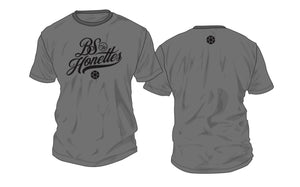 """BS & THE HONETTES"" Gray T-Shirt 