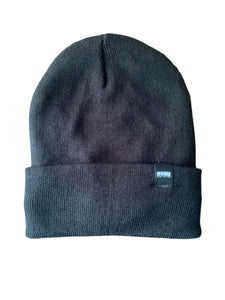 """THE BRISK"" FLEECE LINED PREMIUM BEANIE BLACK 