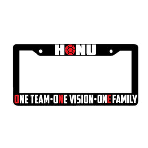 """THE FRAME"" License Plate Frame"