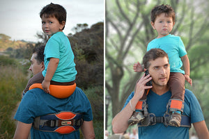 Hands-Free Parent Shoulder Saddle