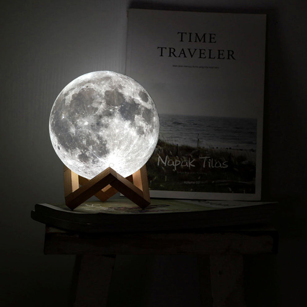 Glowing Moon Lamp