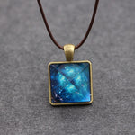 Glowing Crystal Cosmos Necklace