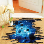 3D Cosmic Floor/Wall Sticker