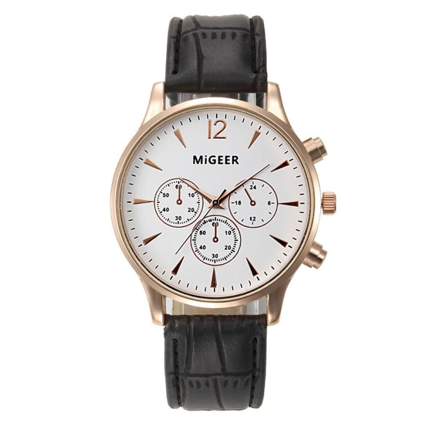 Relojes Mujer Luxury Leather Watch