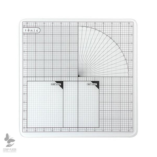 Outils Glass Cutting Mat 12 X 12
