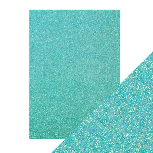 Sets papiers Glitter Card - Tropical Tide - A4 250Gsm