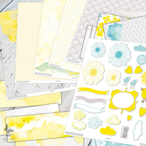 Sets papiers Lemon