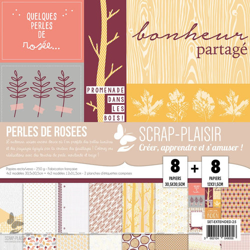 Sets papiers Collection Automne