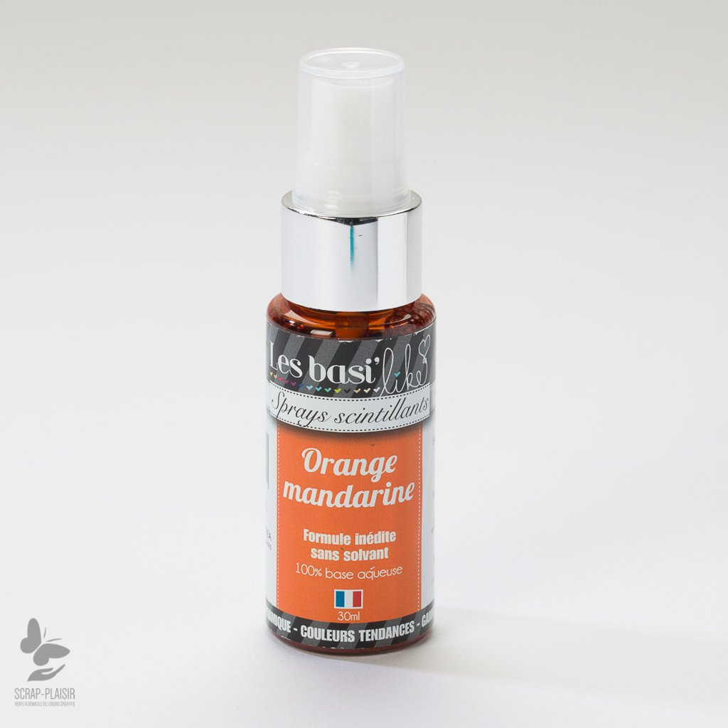 Sprays Orange mandarine