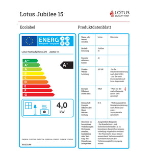 Lotus Jubilee Eco Label