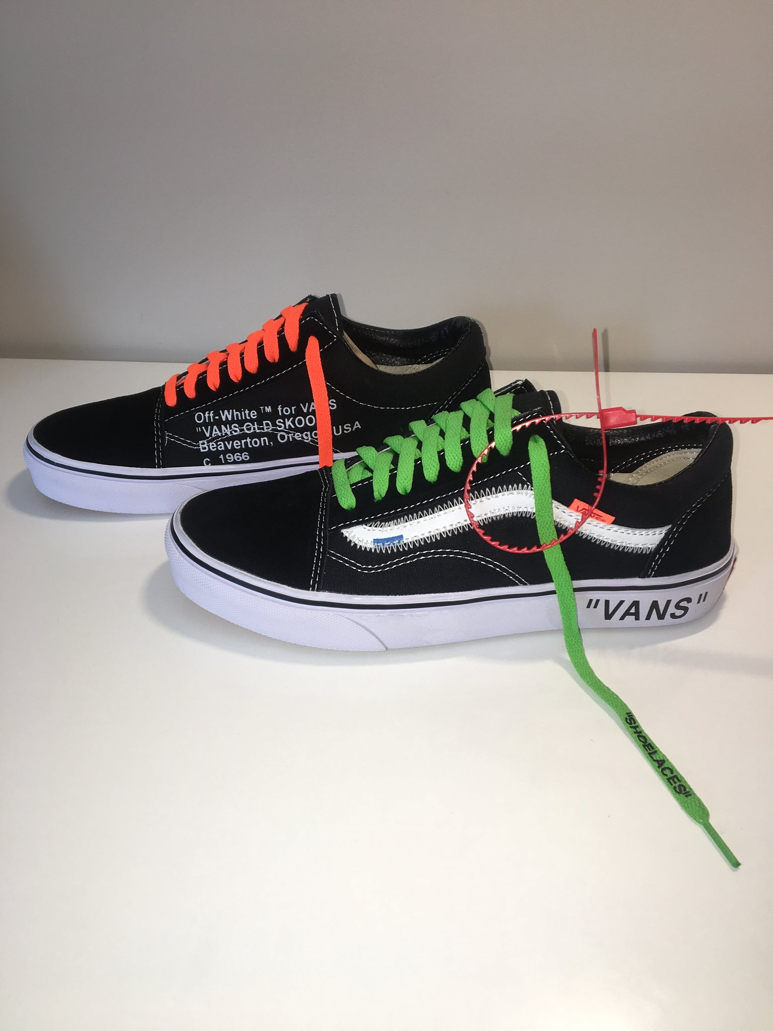 vans x off white slip on