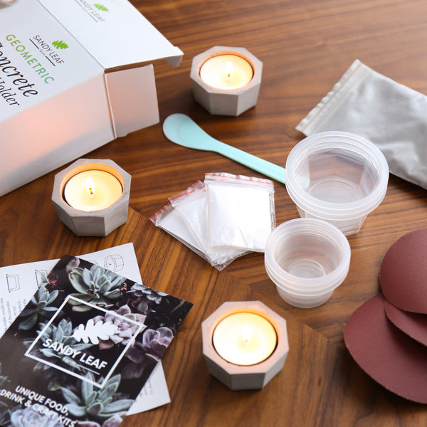 Geometric Candle Holder Kit
