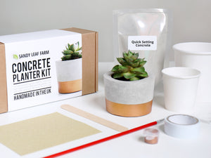Concrete Planter Making Kit