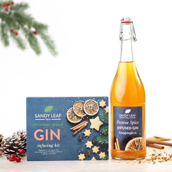 Christmas Gin Infusion Kit