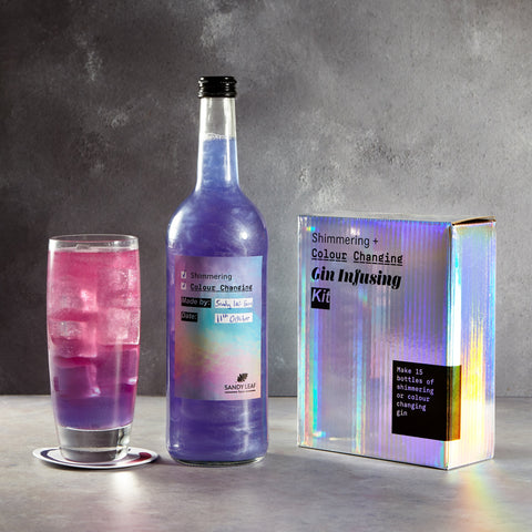 Shimmering & Colour Changing Gin Infusing Kit