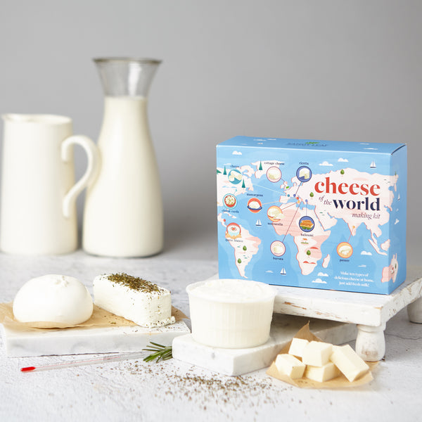 Cheese of the World Making Kit