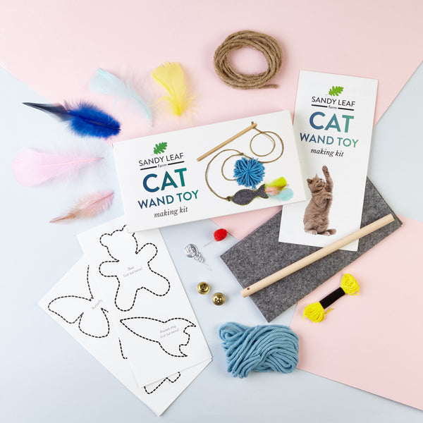 Cat Wand Toy Making Kit