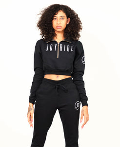 "Black ""BUMMY"" sweatsuit"