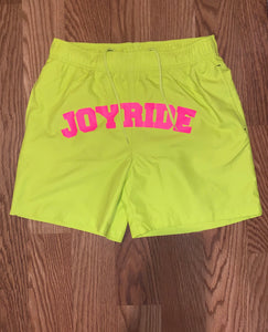 """DOUBLE NEON"" swimming trunks"