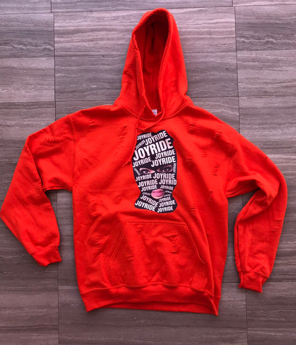 "Orange ""Bonnie"" hoodie"