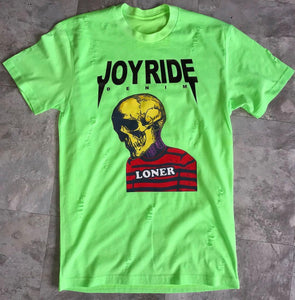 lime green LONER T-SHIRT