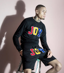"Unisex ""JOY UNIVERSITY"" short sets"