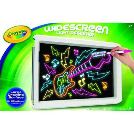 Crayola Widescreen Light Designer - Find unique arts and crafts gifts for creative people who love a new hobby or expand a current hobby, art accessories, craft kits and models at Gifteee Cool gifts, Unique Gifts for arts and crafts lovers