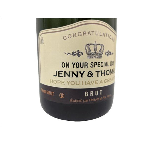 Personalized Champagne Bottles - Gifteee. Find cool & unique gifts for men, women and kids