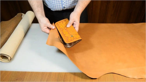 DIY LeatherCrafting: Make Your Own Leather Wallet (Online Course) - Find unique online courses to pass the time while in self isolation staying at home, learn a new craft, find a new hobby at Gifteee Cool gifts, Unique Online Courses a great gift idea