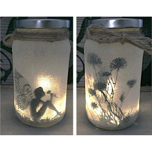Fairy Light Up Jar-Lighting - www.Gifteee.com - Cool Gifts \ Unique Gifts - The Best Gifts for Men, Women and Kids of All Ages