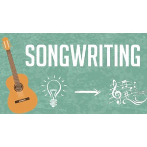 Songwriting - From Idea to Finished Song (Online Course) - Find unique online courses to pass the time while in self isolation staying at home, learn a new craft, find a new hobby at Gifteee Cool gifts, Unique Online Courses a great gift idea