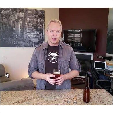Learn How To Brew Beer At Home In 5 Easy Steps (Online Course) - Find unique online courses to pass the time while in self isolation staying at home, learn a new craft, find a new hobby at Gifteee Cool gifts, Unique Online Courses a great gift idea