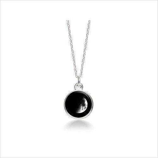 Choose Your Moon Phase Necklace-charm necklace - www.Gifteee.com - Cool Gifts \ Unique Gifts - The Best Gifts for Men, Women and Kids of All Ages