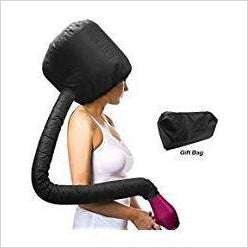 Hair Dryer Bonnet Attachment-Beauty - www.Gifteee.com - Cool Gifts \ Unique Gifts - The Best Gifts for Men, Women and Kids of All Ages