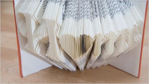 Learn book folding to create unique gifts/paper craft (Online Course) - Find special books, flip books, pop up books, mysterious books, unique map books, unusual creative books at Gifteee unique books for kids and adults