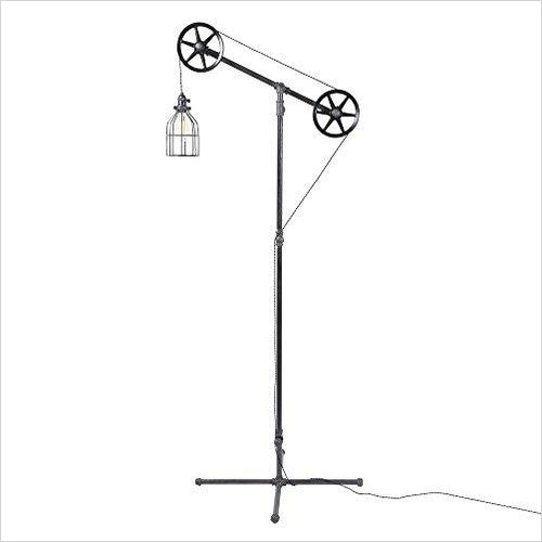 Fayette Industrial Floor Lamp - Gifteee. Find cool & unique gifts for men, women and kids