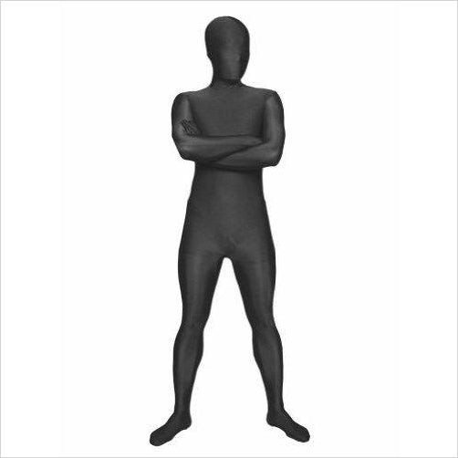 Men's Full Body Spandex/Lycra Suit, Black, Large-Apparel - www.Gifteee.com - Cool Gifts \ Unique Gifts - The Best Gifts for Men, Women and Kids of All Ages