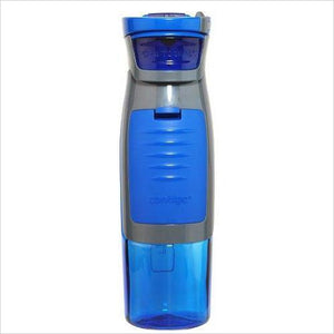Water Bottle with Storage Compartment-Kitchen - www.Gifteee.com - Cool Gifts \ Unique Gifts - The Best Gifts for Men, Women and Kids of All Ages