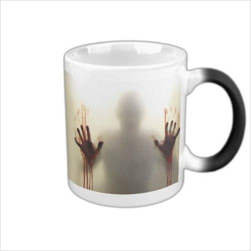 Color Changing Zombie Mug Hot-Sports - www.Gifteee.com - Cool Gifts \ Unique Gifts - The Best Gifts for Men, Women and Kids of All Ages