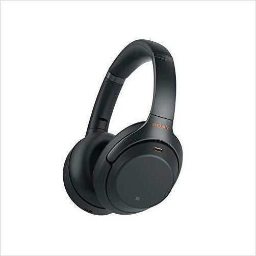Sony Noise Cancelling Headphones - Alexa voice control - Industry Leading Active Noise Cancellation-earphones - www.Gifteee.com - Cool Gifts \ Unique Gifts - The Best Gifts for Men, Women and Kids of All Ages