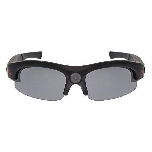 Camera Glasses Video Recording Sport Sunglasses (1080P @ 30fps, 720P @ 60fps, Wide Angle)-Home Theater - www.Gifteee.com - Cool Gifts \ Unique Gifts - The Best Gifts for Men, Women and Kids of All Ages