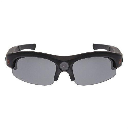 Camera Glasses Video Recording Sport Sunglasses (1080P @ 30fps, 720P @ 60fps, Wide Angle) - Find the newest innovations, cool gadgets to use at home, at the office or when traveling. amazing tech gadgets and cool geek gadgets at Gifteee Cool gifts, Unique Tech Gadgets and innovations
